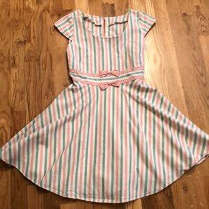 ModCloth Candy Striper Dress